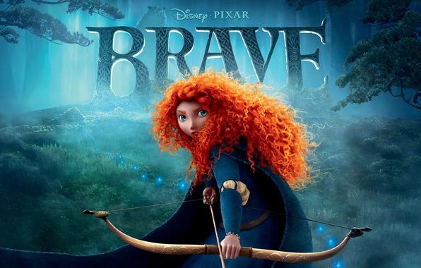 Picture pixar, disney, brave, brave heart