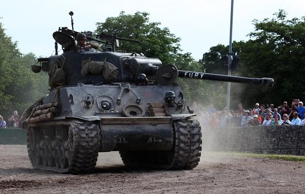 """Picture tank, average, """"Sherman"""", M4A3 Sherman"""
