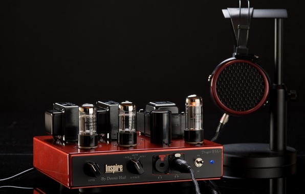 Picture background, Headphone, Amplifier