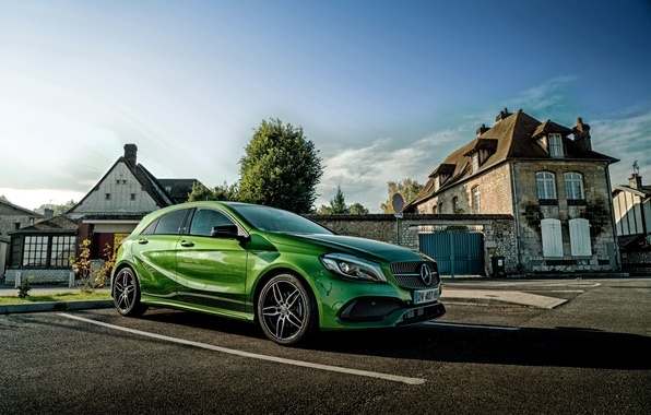 Picture Mercedes-Benz, Mercedes, AMG, AMG, W176, A-Class
