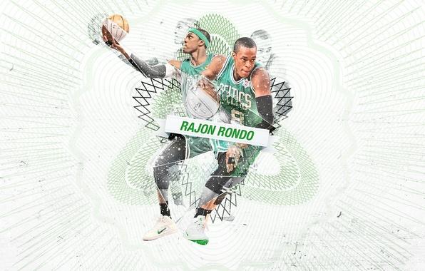 Picture Sport, Basketball, Boston, NBA, Celtics, Rajon Rondo, Rajon Rondo