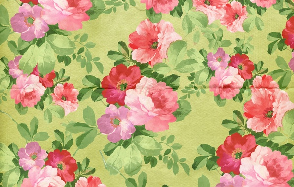 Picture background, wallpaper, ornament, vintage, texture, floral, pattern, paper, floral