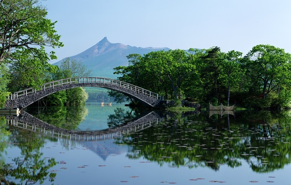 Picture Bridge, Japan, Hokkaido