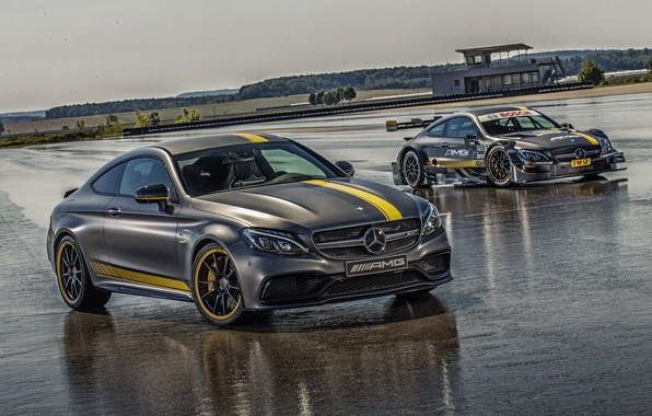 Picture Mercedes-Benz, Mercedes, AMG, Coupe, AMG, C 63, 2014, C-Class, C205