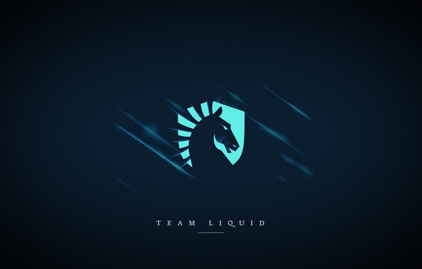 Photo Wallpaper Dota 2 Blue Background Team Liquid Csgo Cs Go