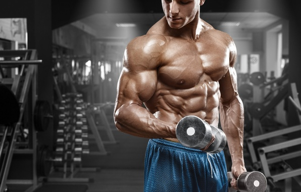 Wallpaper Man Workout Gym Working Images For Desktop Section