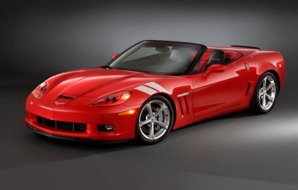 Picture red, Chevrolet, corvette