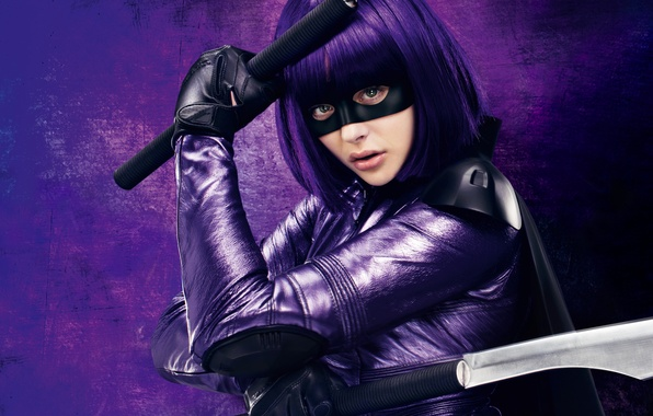 Picture 2013, Chloe Grace Moretz, Movie, Kick Ass 2, Hit Girl, Hit girl