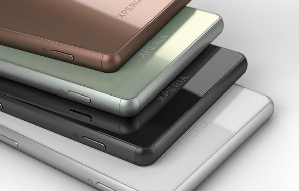 Picture white, color, green, green, black, colors, copper, white, black, Sony, android, hi-tech, smartphone, smartphone, Xperia, …