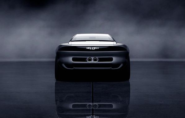 Picture Concept, rear view, 1989, Isuzu, 4200R