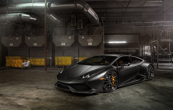 Photo wallpaper LP 610-4, Lamborghini Huracan, Watch free Lamborghini LP 610-4