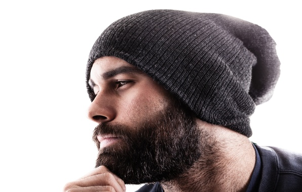 Picture face, hat, male, beard, guy
