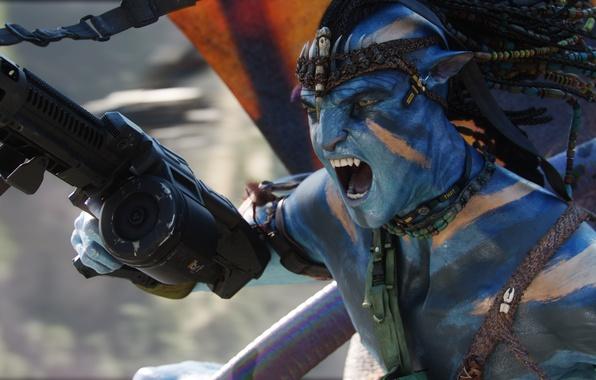 Picture Avatar, na'vi, James Cameron