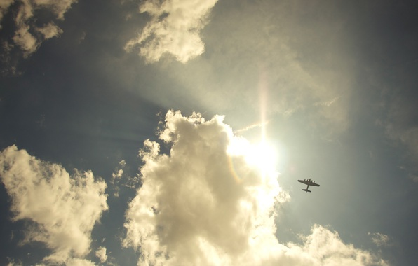 Picture the sky, freedom, clouds, landscapes, the plane, sky, freedom, clouds, flight, airplanes
