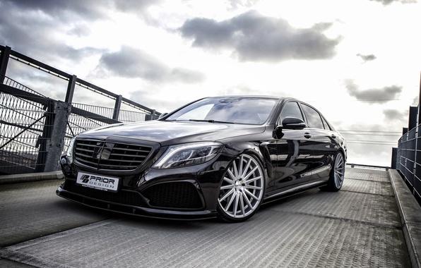 Picture Mercedes-Benz, Mercedes, S-Class, Benz, 2014, Prior-Design, W222