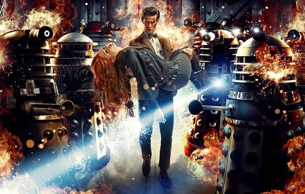 Picture Doctor Who, series, Doctor Who, Matt Smith, Matt Smith, Far, Far