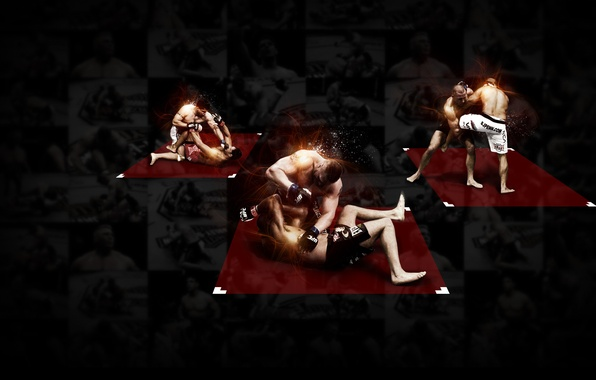 Wallpaper Logo Black Background Fighters Mma Thiago