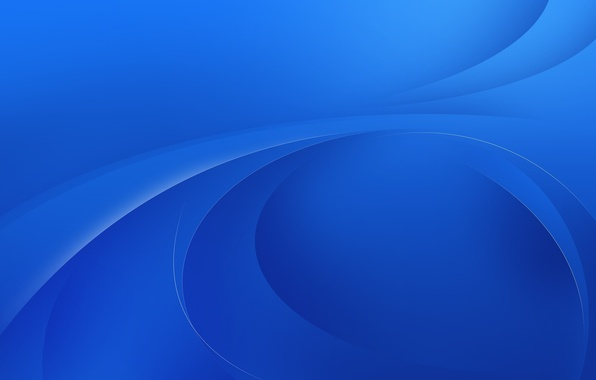 Picture line, abstraction, minimalism, blue background, hq Wallpapers