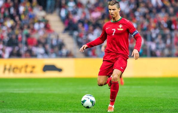 Picture football, form, Portugal, Cristiano Ronaldo, player, football, player, Real Madrid, Real Madrid, Ronaldo, Ronaldo, Cristiano …