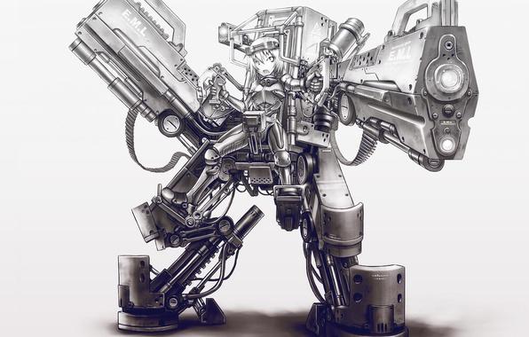 wallpaper robot robot anime images for desktop section прочее