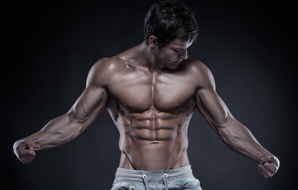 Picture sexy, muscles, pose, bodybuilding