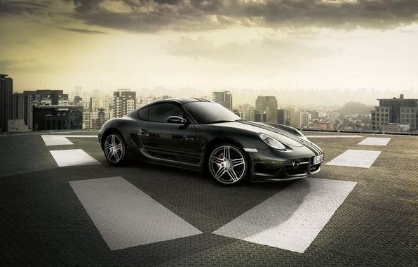 Picture The city, Porsche, The site