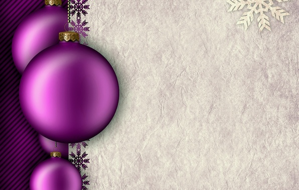 Purple Balls For Decoration Endearing Wallpaper New Year Decoration Purple Christmas Balls New Year Inspiration