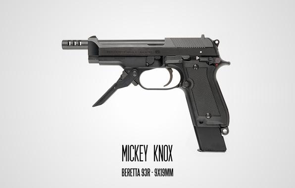 Wallpaper Natural born killers, Beretta, Mickey Knox ...