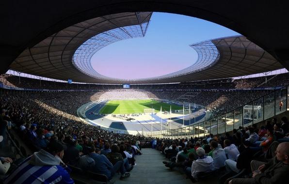 Picture photo, people, football, sport, tribune, stadium