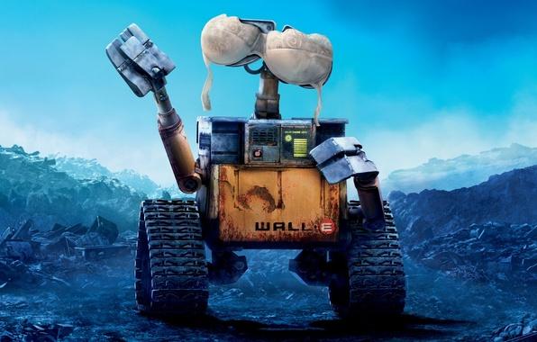 Picture robot, Wall-e, bra