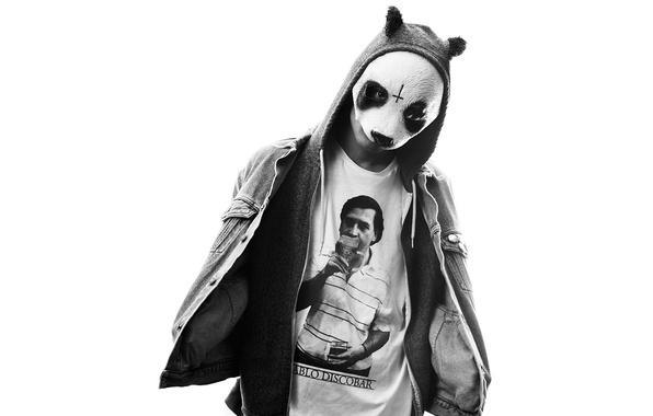 Picture music, mask, Panda, germany, panda, hip, cro, hop