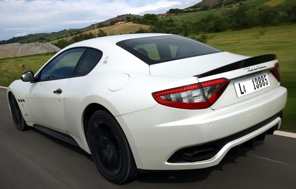 Picture road, auto, Maserati, speed, GranTurismo, Sport, MC line