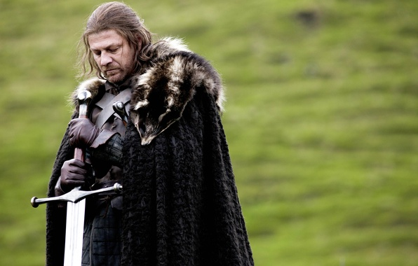 Picture sword, Ice, Game of Thrones, game of thrones, sean bean, Sean bean, Stark