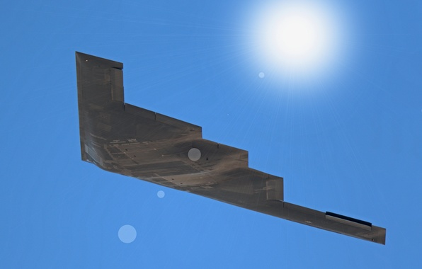 Picture flight, bomber, strategic, unobtrusive, heavy, B-2B Spirit