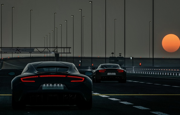 Picture rendering, background, race, track, sports car