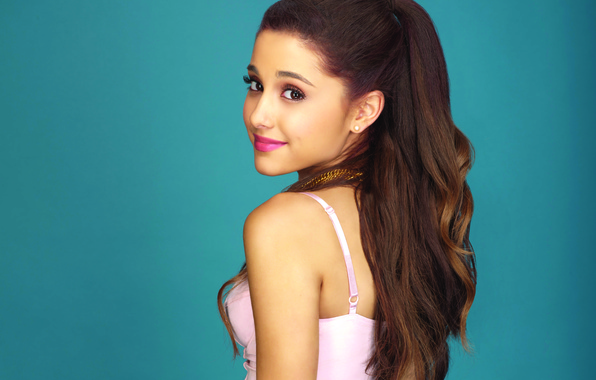 Picture look, girl, singer, Ariana Grande, Ariana Grande