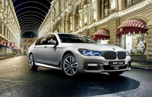 Picture BMW, BMW, sedan, xDrive, 7-Series, G12