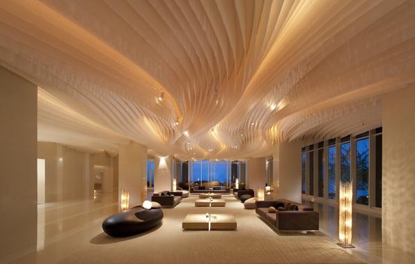 Picture interior, sofas, interior, tables., desigen, Stipe, hole