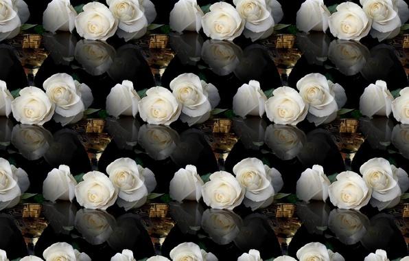 wallpaper wine glass background rose images for desktop