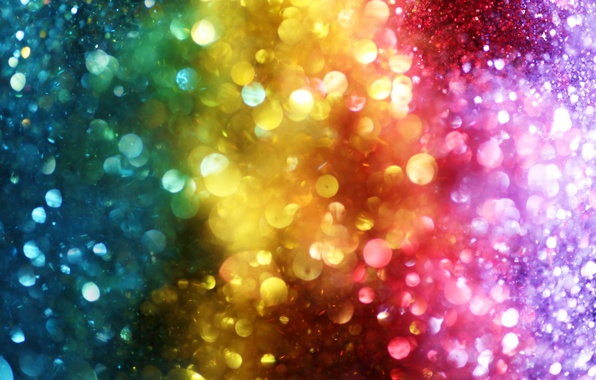 Picture lights, lights, background, color, colorful, rainbow, bokeh