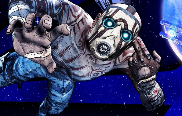 Picture Stars, Look, The moon, Space, Ship, Light, Mask, Spaceship, Satellite, Villain, 2K Games, Gearbox Software, …