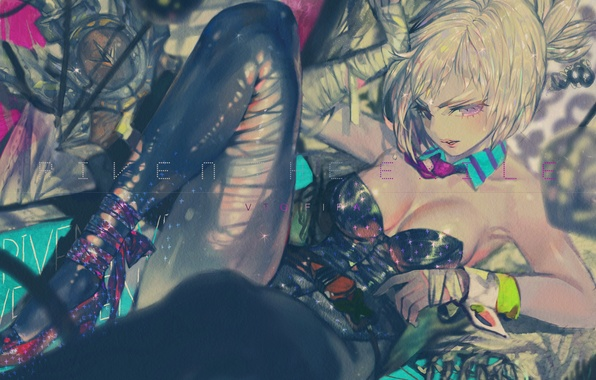 Picture girl, game, art, lol, league of legends, riven