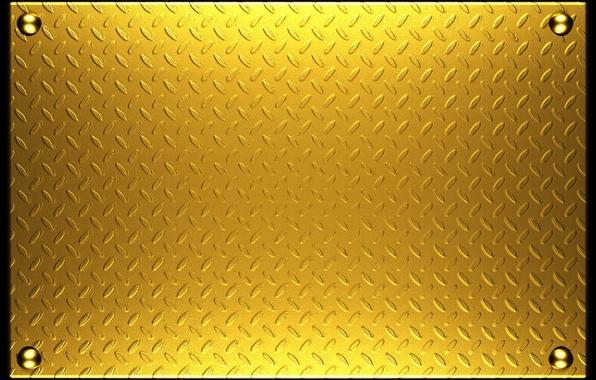Wallpaper Metal Texture Metal Plate Gold Texture