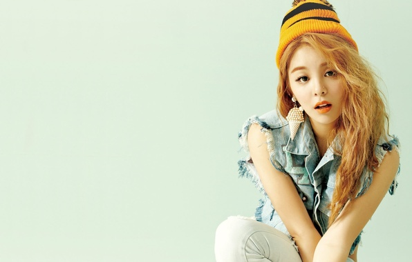 Picture girl, music, Asian, South Korea, K-Pop, Ailee