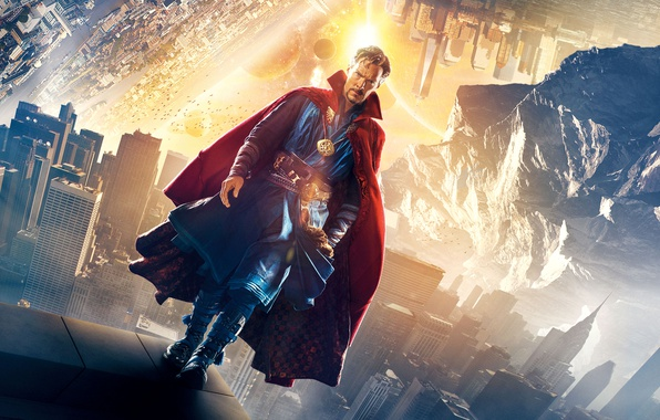 Picture abstraction, background, fiction, fantasy, poster, Benedict Cumberbatch, Benedict Cumberbatch, Doctor Strange, Doctor Strange