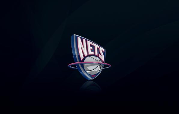 Picture Blue, Basketball, Background, Logo, NBA, Jersey, Mesh, New Jersey Nets