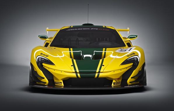 Picture McLaren, GTR, supercar, the front, McLaren, 2015