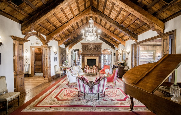 Picture wooden, living room, home, luxury, new jersey