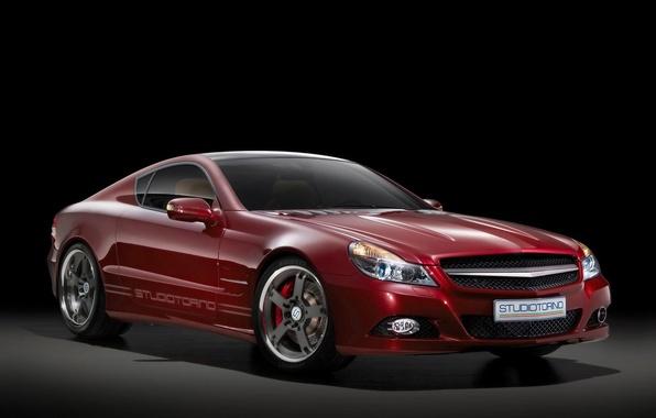 Picture red, Mercedes-Benz, SL-studioTurino