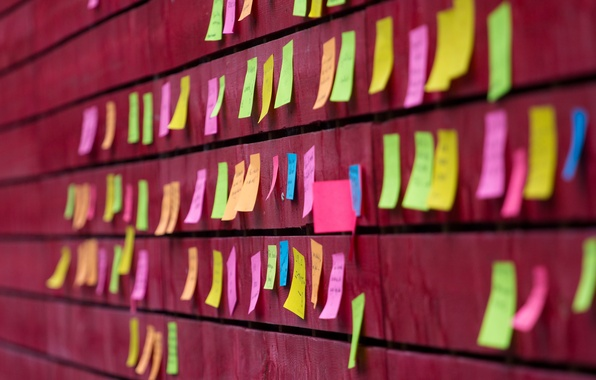 Picture wall, color, Notes